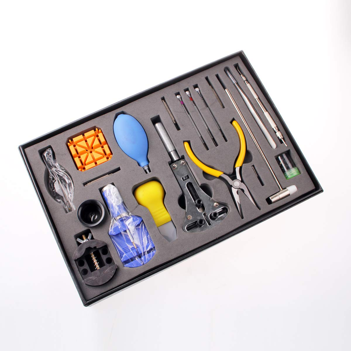 Amazon.com: Kit profesional de reparación de relojes ...