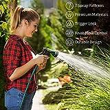 AUTOMAN-Garden-Hose-Nozzle, Metal Water Spray
