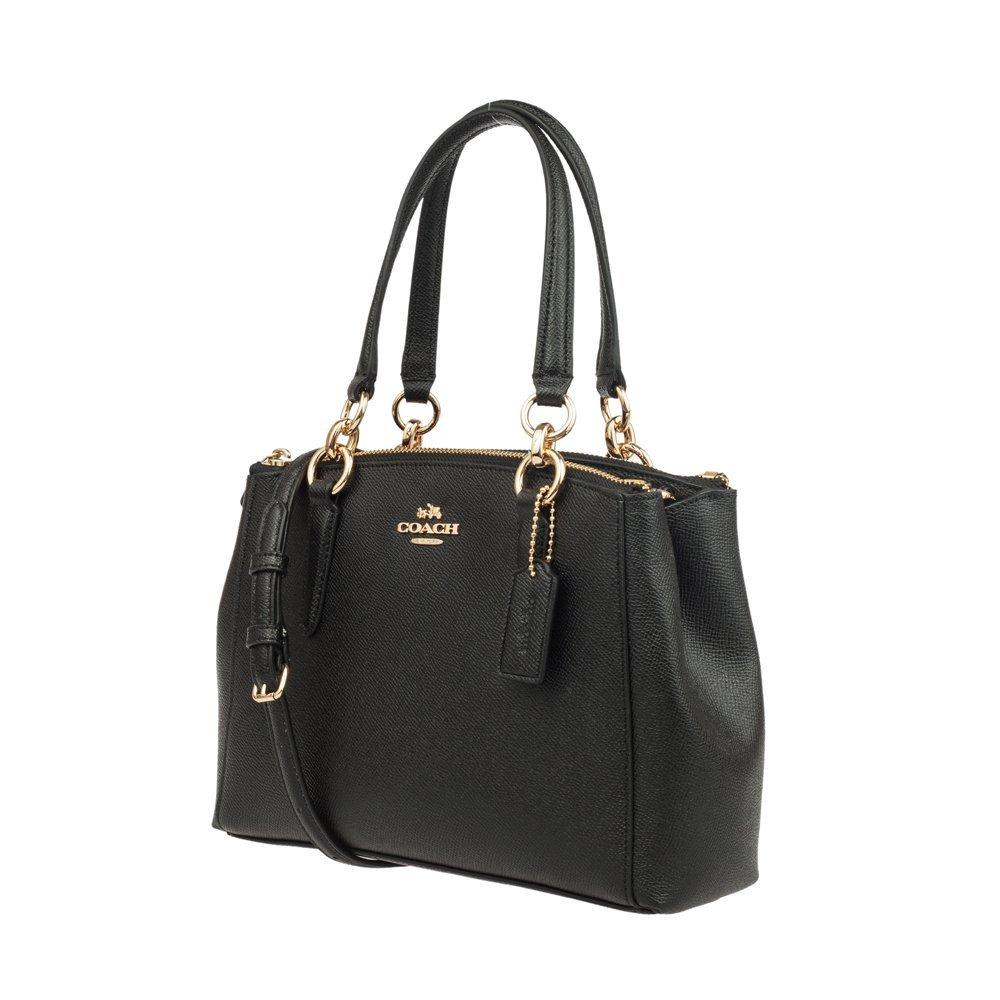 ed73db4d COACH Crossgrain Leather Mini Christie Carryall Crossbody Handbag ...