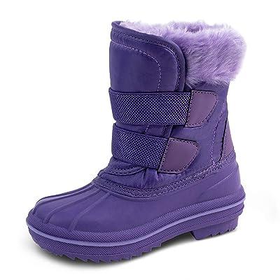 HZSTAY Toddler Waterproof Winter Outdoor Snow Boots(Girls/Little Kids) | Boots