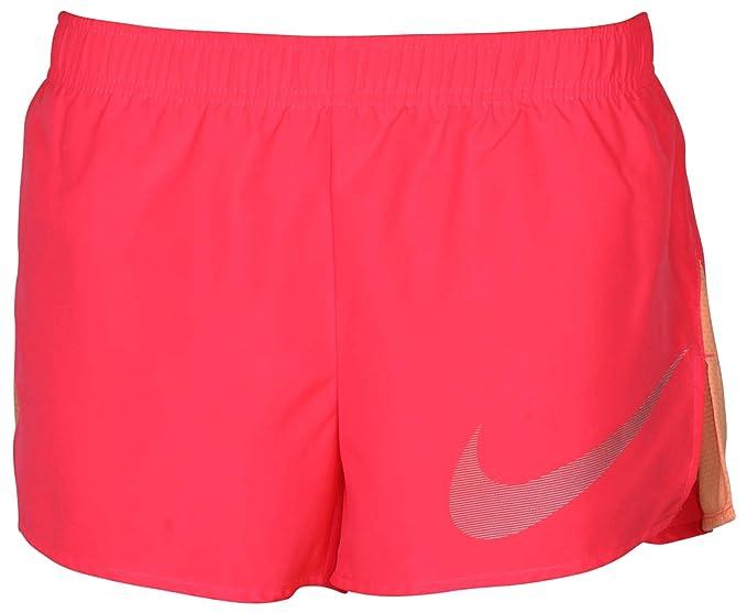 bbf2f81ac6019 Nike Women's Dri-Fit City Core Running Shorts-Racer Pink-Small