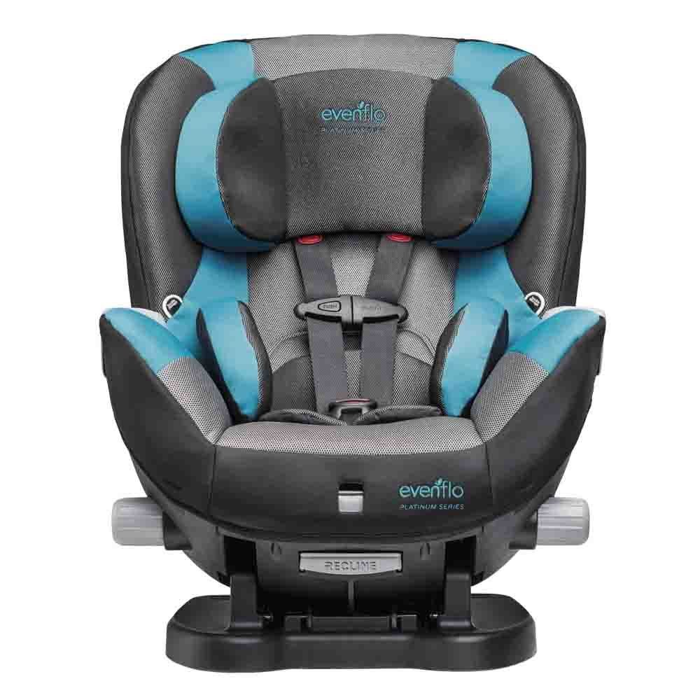 Evenflo Triumph LX Convertible Car Seat, Fischer, Grey, Teal, One Size 38211584C