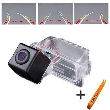 Navinio 170 ° Visualización Invertir la pista línea de la cámara de la regla con el