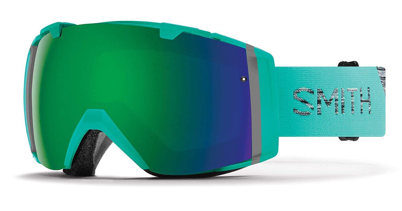 Smith Optics 大人用 I/O アジアンフィット スノーゴーグル オパール CPサングリーンミラーとCPストームレンズ付き