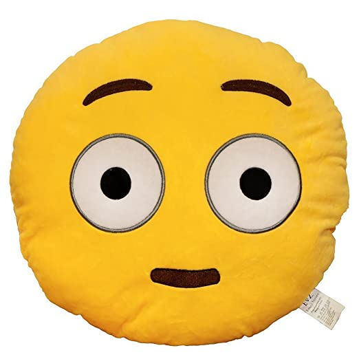 EVz Emoji Smiley Emoticon cojín relleno Plush Soft Almohada ...