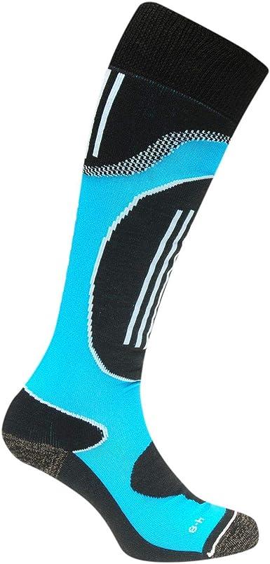 Nevica Mujer Aspen Calcetines De Esquí 1 Pack Azul/Negro EU 37-42 (UK 4-8): Amazon.es: Ropa y accesorios