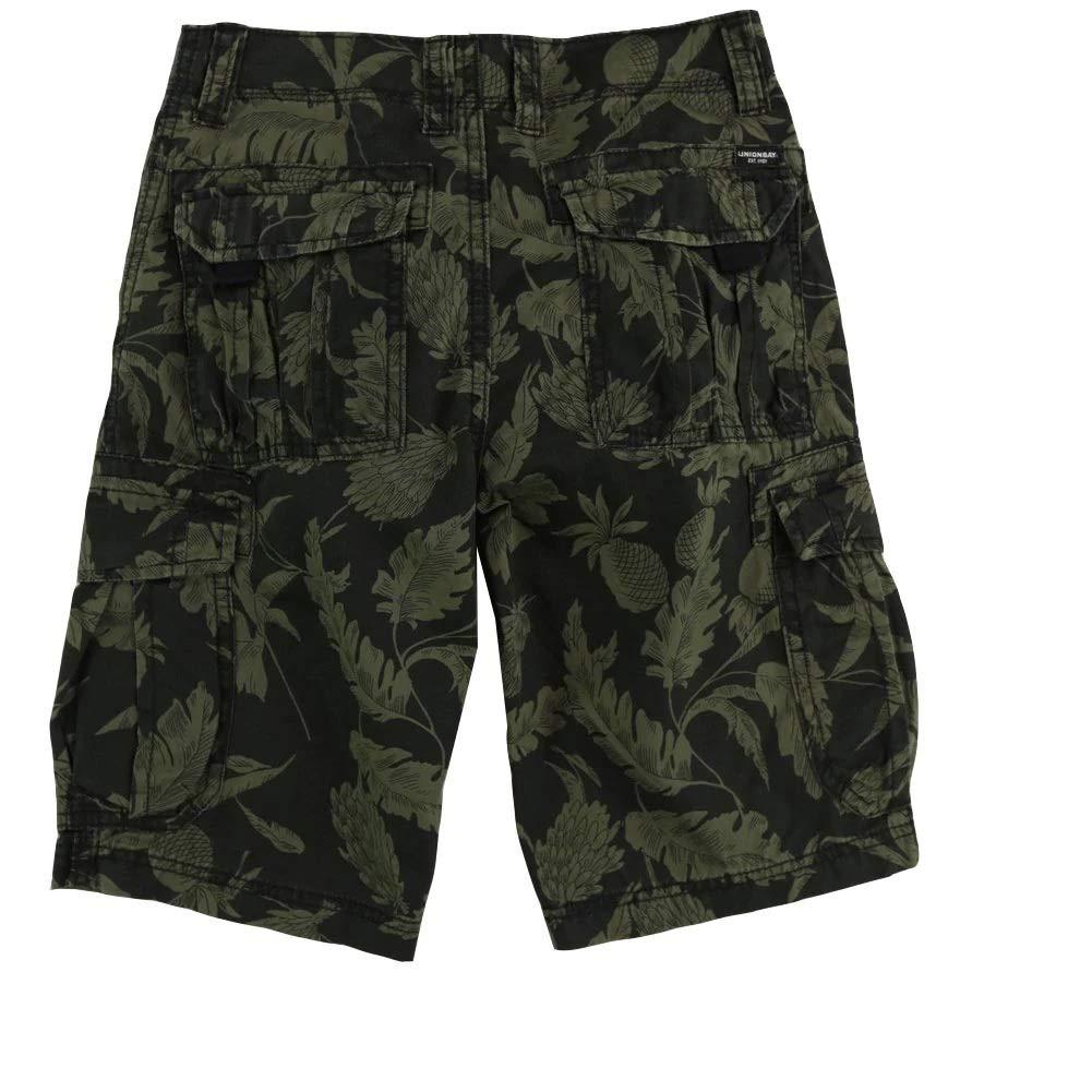 UNIONBAY Boys 8-18 Island Camouflage Cargo Short 16