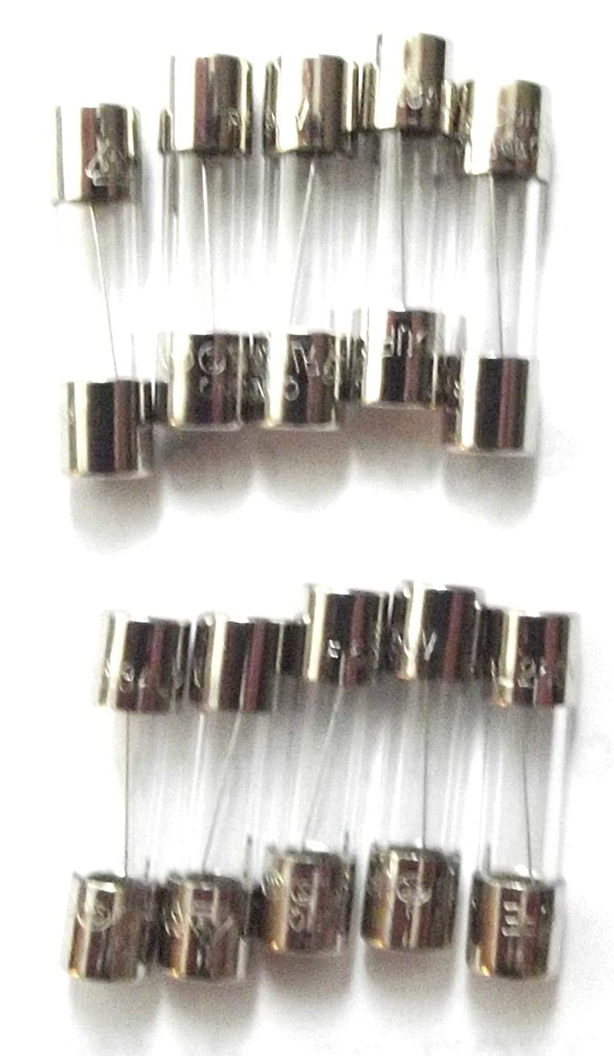 FUSE 6.3A 20mm  Quick Blow  Fast F6.3a L 250v  Glass  x10pcs