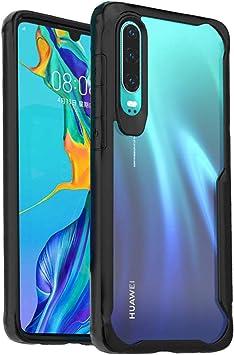 ORETECH Funda Huawei P30, Funda Huawei P30 con [Tecnología de cojín de Aire] Gel Suave Silicona TPU y Carcasa Transparente Protectora del Cuerpo Completo Funda para Huawei P30-Nergo: Amazon.es: Electrónica