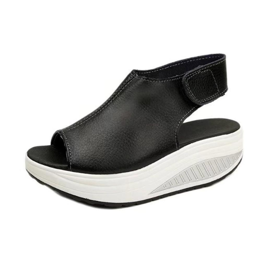 Sandalias mujer, ❤️ Manadlian Moda Zapatos de mujer Shake Sandalias de verano Fondo grueso Zapatos de tacón alto (CN:39, Rojo) ❤️ Manadlian Moda Zapatos de mujer Shake Sandalias de verano Fondo grueso Zapatos de tacón alto (CN:39
