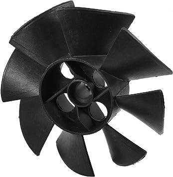 Plástico Negro 15mm Diámetro Interno 8 Rotor Motor Aspa Del ...