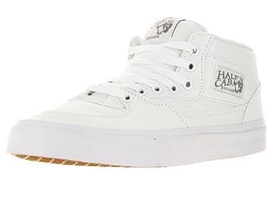 Vans Unisex Half Cab (Canvas) True White/Wild Dove Skate Shoe 8 Men