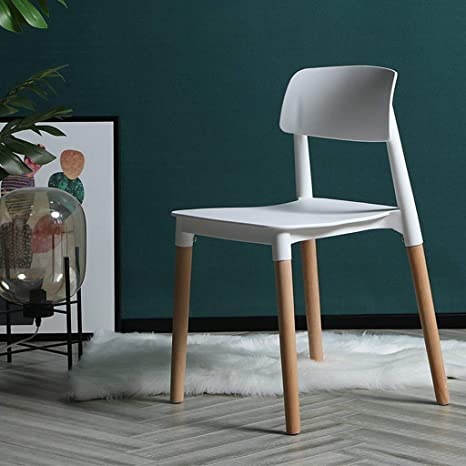 Stupendous Yanqing Mid Century Modern Style Natural Wood Legs Armless Ibusinesslaw Wood Chair Design Ideas Ibusinesslaworg
