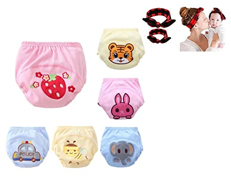 Jinglun Showtime 6 Pack Baby Girl Boy Toliet Pee Potty Training Pants Diaper Nappy Ropa Interior