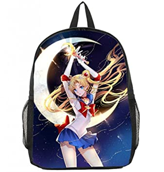 Bromeo Sailor Moon Patrón Mochila Bolsas Escolares Cartera Colegio Bolso #10: Amazon.es: Equipaje