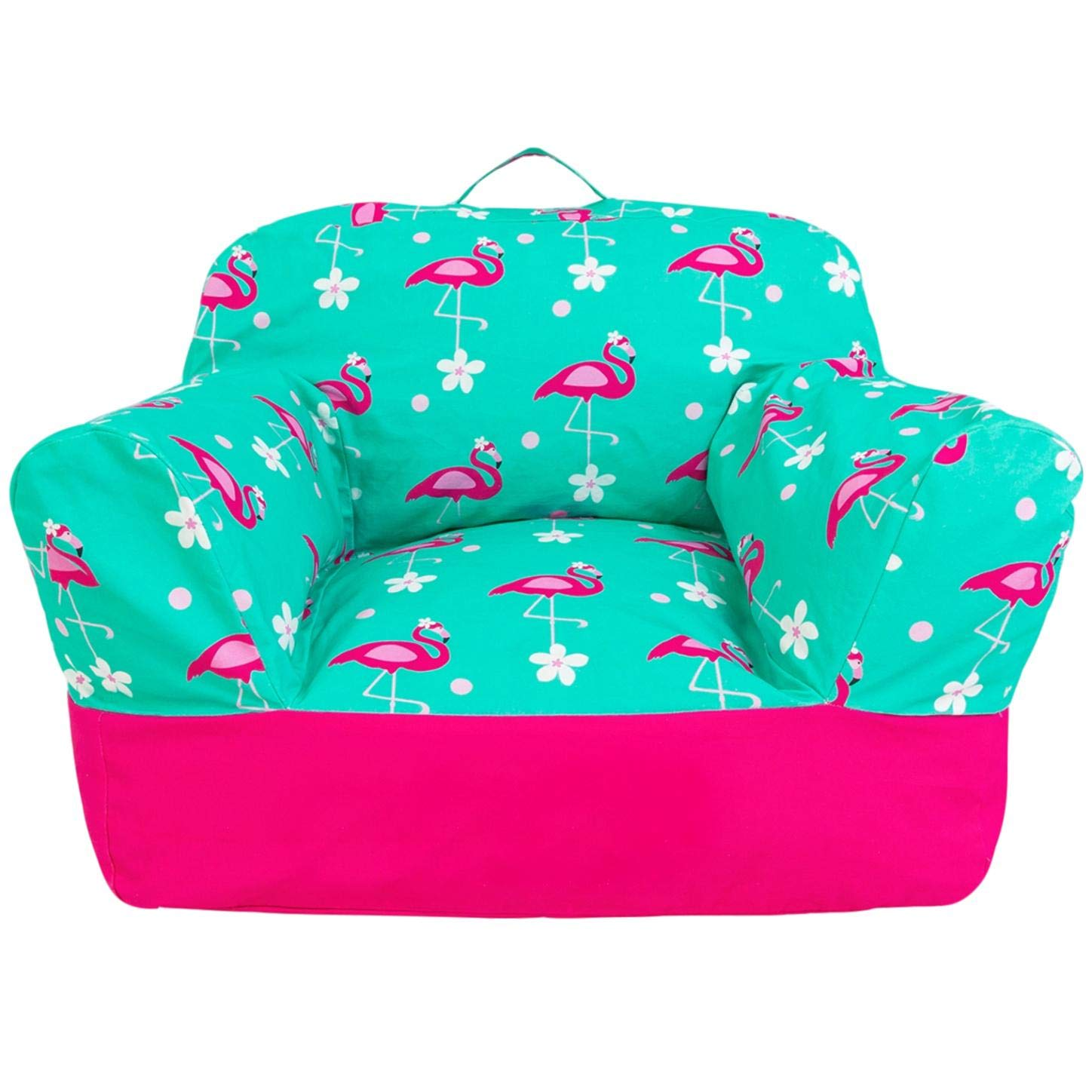 Yayme! Blue Green Alligator Crocodile Beanbag Chair Cover | Our Bean Bag for Boys is Comfy and Shaped Like an Armchair | This Cute Design Will Make Every Little Boy's Room Fun BBC3440