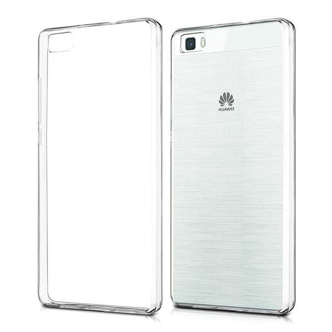 kwmobile Huawei P8 Lite (2015) Hülle - Handyhülle für Huawei P8 Lite (2015) - Handy Case in Transparent