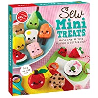 Klutz Sew Mini Treats: More Than 18 Food Plushies to Stitch & Stuff, Craft Kit