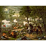 WAR AMERICAN CIVIL BATTLE CHANCELLORSVILLE USA HOOKER NEW FINE ART PRINT POSTER PICTURE 30x40 CMS CC5650