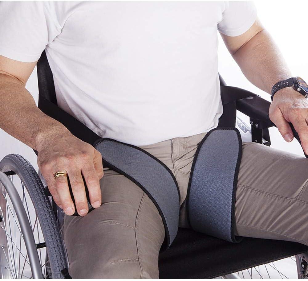 Mobiclinic | Arnés de piernas para sujeción a sillas de ruedas | Talla 3 (contorno 65-80)