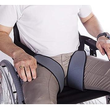 Mobiclinic | Arnés de piernas para sujeción a sillas de ruedas | Talla 2 (contorno 60-75): Amazon.es: Salud y cuidado personal