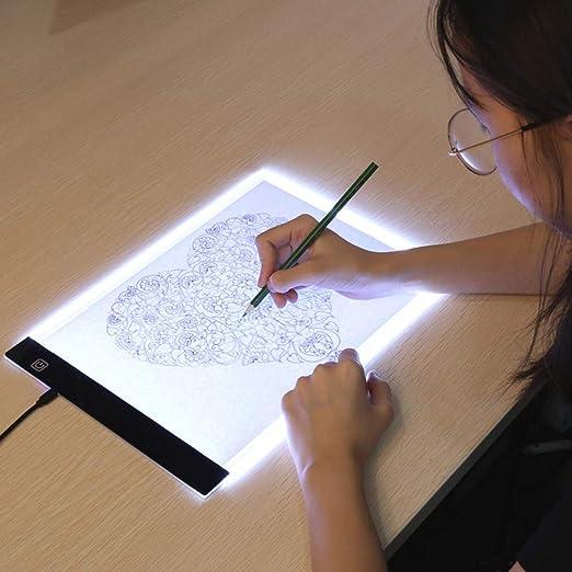 Caja De Luz Tabletas Digitales Originales A4 Led Artista Gráfico ...