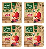 North Coast Organic Apple Sauce with Berries, 4 boxes (4 pouches per box)