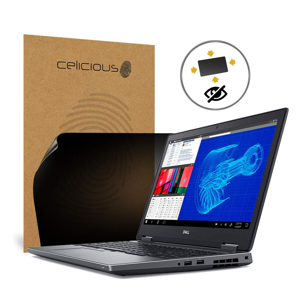 Celicious Privacy Plus 4-Way Anti-Spy Filter Screen Protector Film Compatible with Dell Precision 15 7530 (Touch) by Celicious (Image #1)