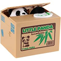 Shinee Cute Stealing Coin Cat Panda Pig Dog Monkey Mouse Money Box Piggy Bank