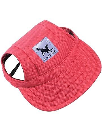 d97766e740037 Baseball Cap Summer Canvas Puppy Small Pet Dog Cat Visor Hat Outdoor  Sunbonnet by Aquiver(