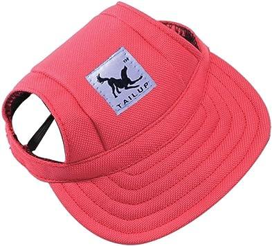 Gorra de verano para perros de tamaño pequeño, gorra para mascotas ...