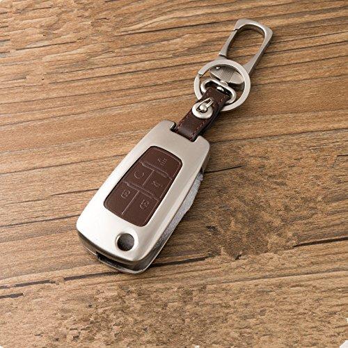リモートスマートキーケースカバーチェーンバッグ交換用 ブラウン OHT01060512 30002 B0765T2BPS 11 11