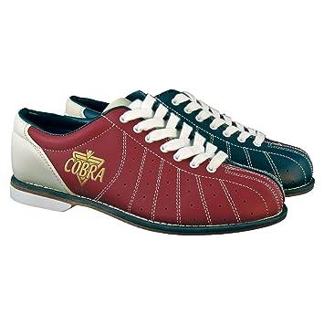 Amazon.com: Bowlerstore Mens TCR-1L Cobra Rental Bowling Shoes ...