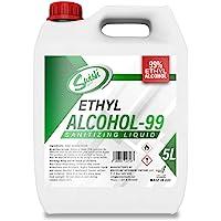 Swish Ethyl Alcohol (Ethanol) 99.9% Sanitizing Liquid 5 litre