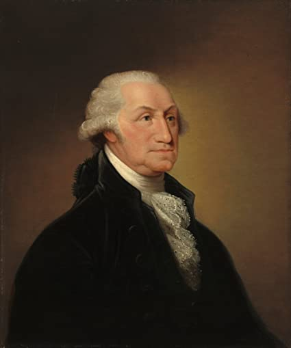 graphic regarding Printable Pictures of George Washington called : Good Artwork Print George Washington c. 1796