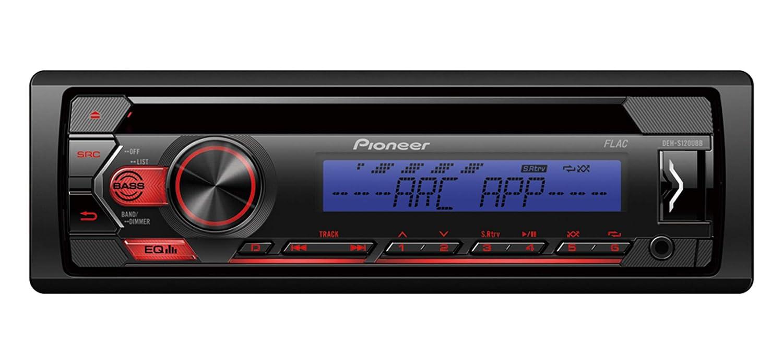 Pioneer DEH-S120UBB Autoradio Illuminazione Blu