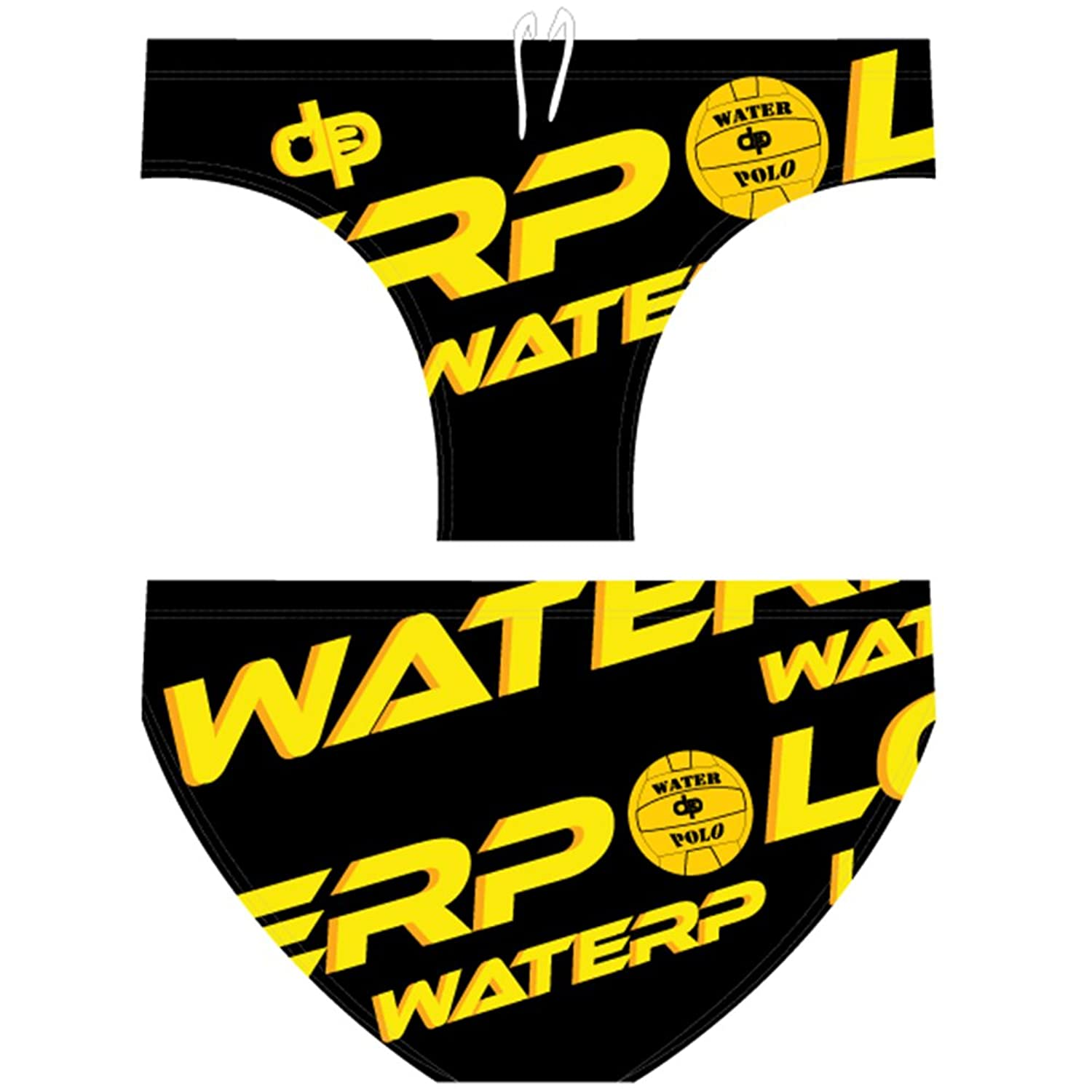 0be5e2cf8 lovely Diapolo WP POLO BLACK men's swimsuit swimming water polo ...