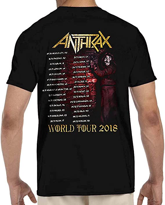 ANTHRAX Bloody Eagle World Tour Mens T Shirt Unisex Tee Official Band Merch