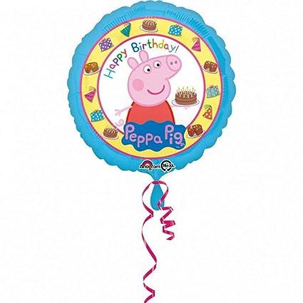 Balloonarama - Globo XL - Happy Birthday Peppa Pig Diseño ...