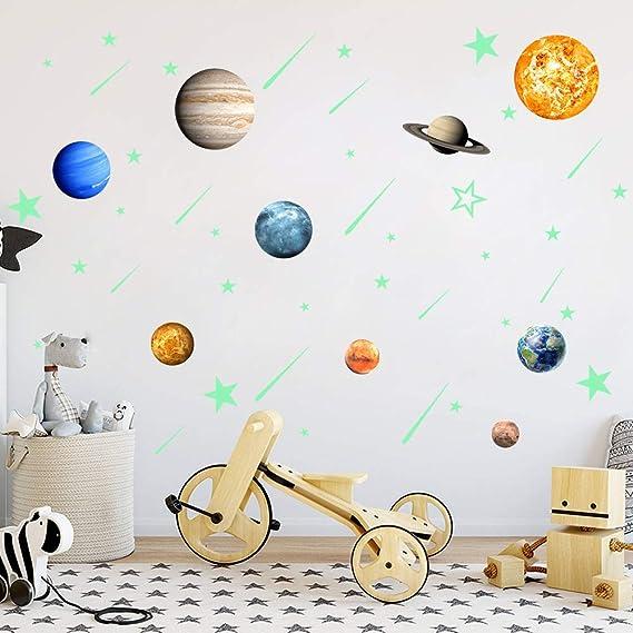 Amazon.com: Pegatinas de pared con diseño de estrellas y ...