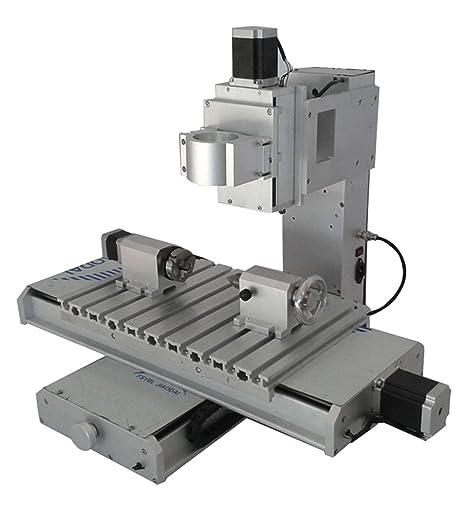Nuevo 4 Axis columna tipo 3040 mesa de fresadora CNC de 4 ...
