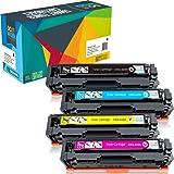 Do it Wiser Compatible Toner Cartridge Replacement For Canon 045 045H MF634cdw MF632cdw LBP612cdw MF635cx LBP611cn LBP613cdw MF631cn MF633cdw (Black Cyan Magenta Yellow | 4 Pack)