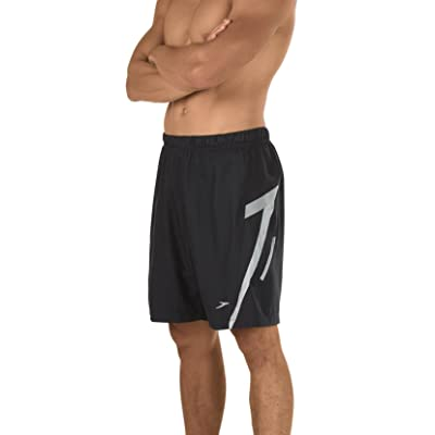 Amazon.com : Speedo Men's Hydrovolley W/Compression Jammer Swimsuit Shorts, Black, Small : Clothing