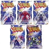 X-Men 2099 Series 2 Set of 5 Action Figures - Includes La Lunatica, Halloween Jack, Junkpile, Shadow Dancer, and Breakdown