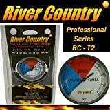 River Country RC-T2 Color Coded Thermometer Barbecue Accessory