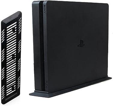 Sony Playstation 4 SLIM soporte vertical negro (PS4 S): Amazon.es ...