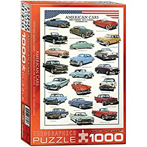 Amazon Com Eurographics American Cars Of The Fifties 1000 Piece