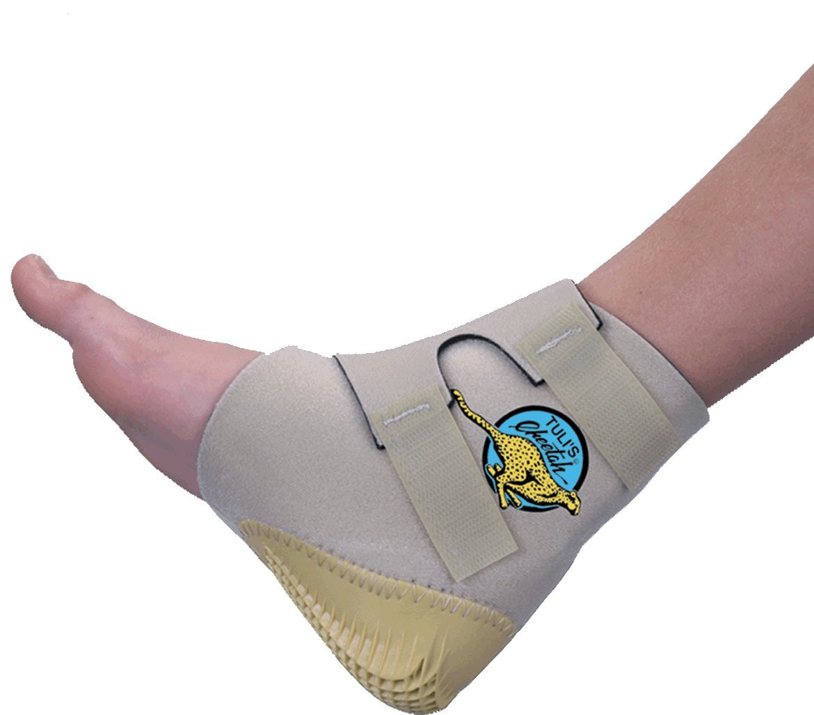 Tuli's Cheetah Heel Cup for Barefoot Activities - Includes 1 Cheetah - Adult (One Size Fits All)