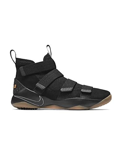 NIKE Men's Lebron Soldier Xi Basketball Shoe (8 D(M) US, Black