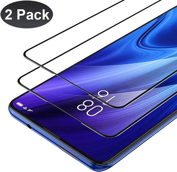 ORNARTO Protector de Pantalla para Xiaomi Mi 9T, Mi 9T Pro[2 Piezas][Cobertura Completa] Cristal Vidrio Templado,2.5D [Alta Definición], Protector de Pantalla para Xiaomi Mi 9T/9T Pro (2019) 6.39